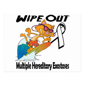 Wipe Out Multiple Hereditary Exostoses Postcard
