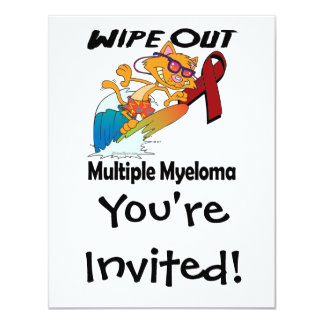 Wipe Out Multiple Myeloma Personalized Invitation