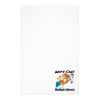 Wipe Out Multiple Sclerosis Stationery