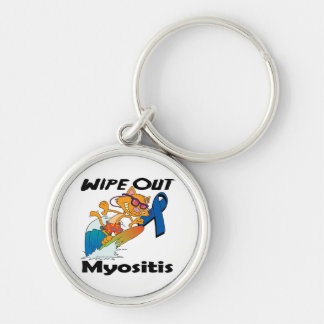 Wipe Out Myositis Key Chains