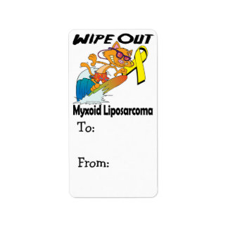 Wipe Out Myxoid Liposarcoma Label