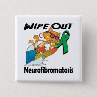 Wipe Out Neurofibromatosis Button