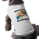 Wipe Out Neurofibromatosis Dog T-shirt
