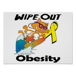 Wipe Out Obesity Posters