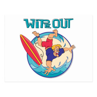 Wipe Out Postcard