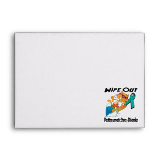 Wipe Out Posttraumatic Stress Disorder Envelopes