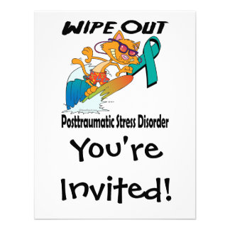 Wipe Out Posttraumatic Stress Disorder Personalized Announcements