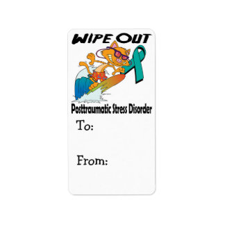 Wipe Out Posttraumatic Stress Disorder Address Label
