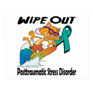 Wipe Out Posttraumatic Stress Disorder Postcards