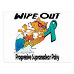 Wipe Out Progressive Supranuclear Palsy Postcard