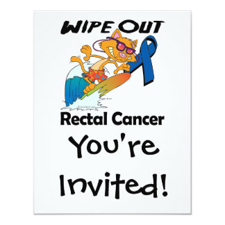 Wipe Out Rectal Cancer Invitations
