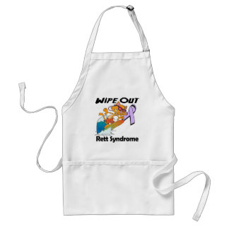 Wipe Out Rett Syndrome Aprons