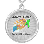 Wipe Out Sandhoff Disease Custom Necklace