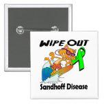Wipe Out Sandhoff Disease Pin