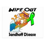 Wipe Out Sandhoff Disease Postcard