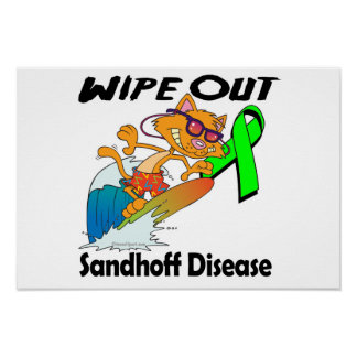Wipe Out Sandhoff Disease Poster