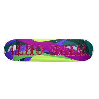 Wipe Out! Skateboard Deck