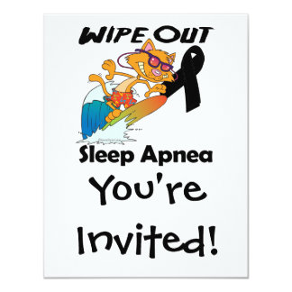 Wipe Out Sleep Apnea Custom Announcements
