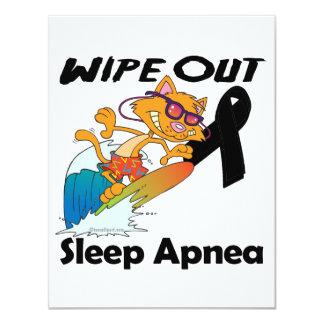 Wipe Out Sleep Apnea Invitation