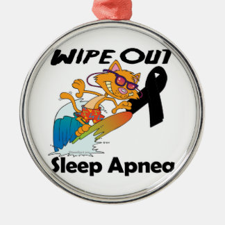Wipe Out Sleep Apnea Christmas Tree Ornament