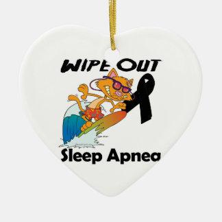 Wipe Out Sleep Apnea Christmas Ornament