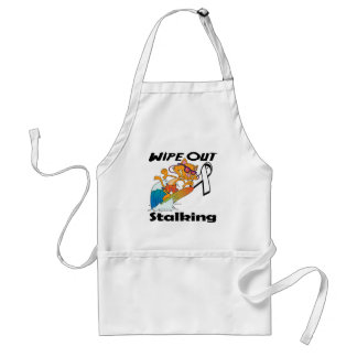 Wipe Out Stalking Aprons