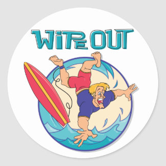Wipe Out Stickers