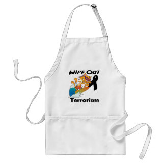 Wipe Out Terrorism Apron