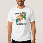 Wipe Out Traumatic Brain Injury T-shirts