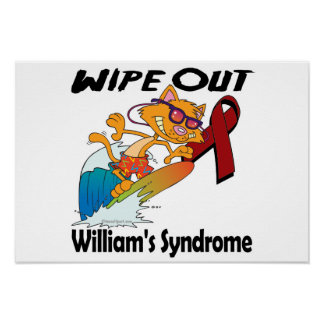 Wipe Out Williams Syndrome Poster