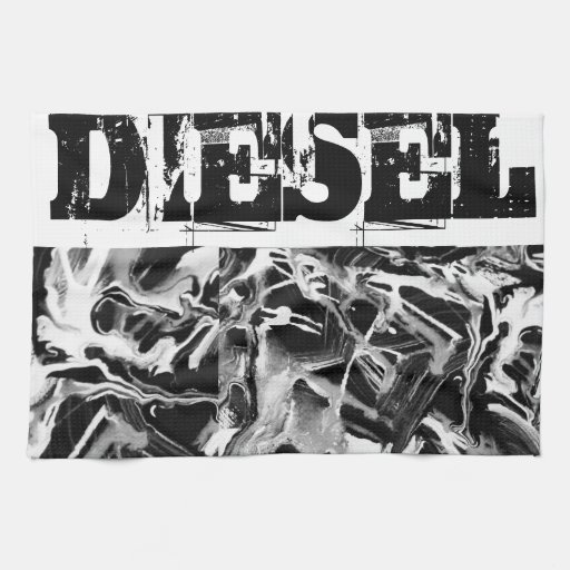 Wipe your Diesel Dirt here! Kitchen Towel
