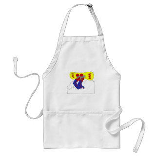 Wipeout Adult Apron