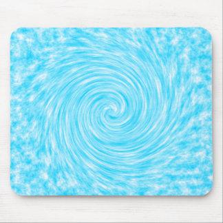 Wipeout azul abstracto de Mousepad Tapetes De Ratón