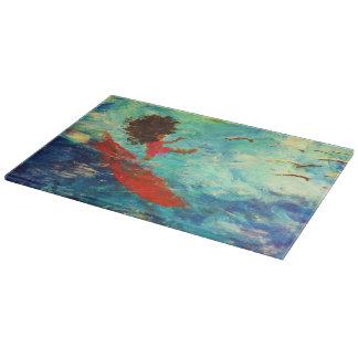 """Wipeout"" Glass Cutting Board"