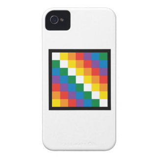 WIPHALA BOLIVIA FLAG iPhone 4 Case-Mate CASES