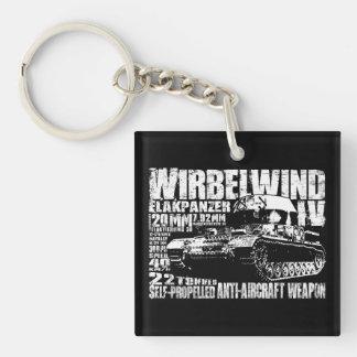 Wirbelwind Acrylic Keychain