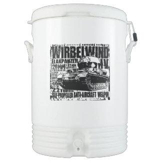 Wirbelwind Igloo Half Gallon Beverage Cooler