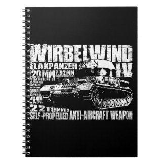 Wirbelwind Spiral Photo Notebook