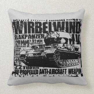 Wirbelwind Throw Pillow
