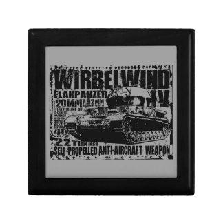 Wirbelwind Wooden Jewelry Keepsake Box