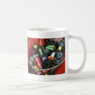 Wire Basket With Thread Coffee Mug