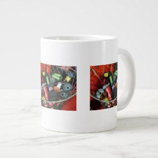 Wire Basket With Thread Large Coffee Mug
