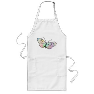 Wire Butterfly Long Apron
