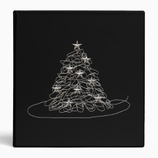 Wire Chrismas Tree Binder