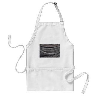 Wire coil apron