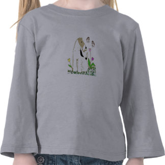 Wire Fox Terrier and Butterflies Tshirt