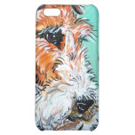 Wire Fox Terrier Antique Portrait Cover For iPhone 5C