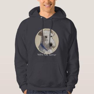Wire Fox Terrier Art Hoodie