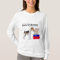 Wire Fox Terrier Back to School T-Shirt