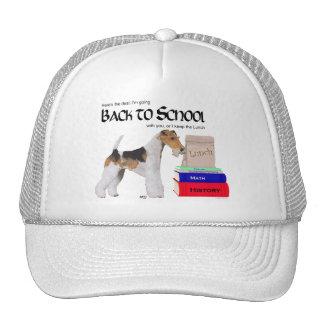 Wire Fox Terrier Back to School Trucker Hat